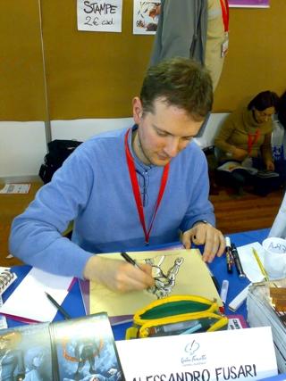 Fusari a Lucca Comics 2008
