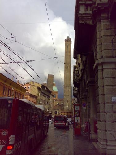 Bologna dopo la pioggia