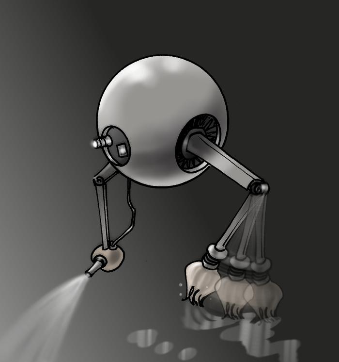 Gelatineide: robopulitore